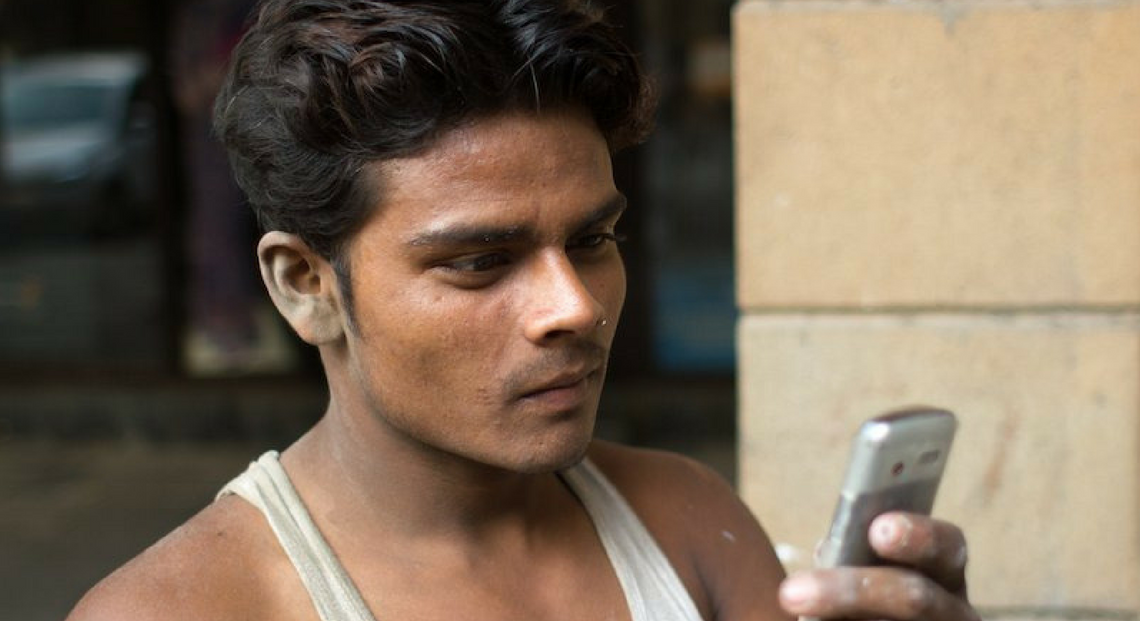 mobile health intervention for MSM and hijras in India