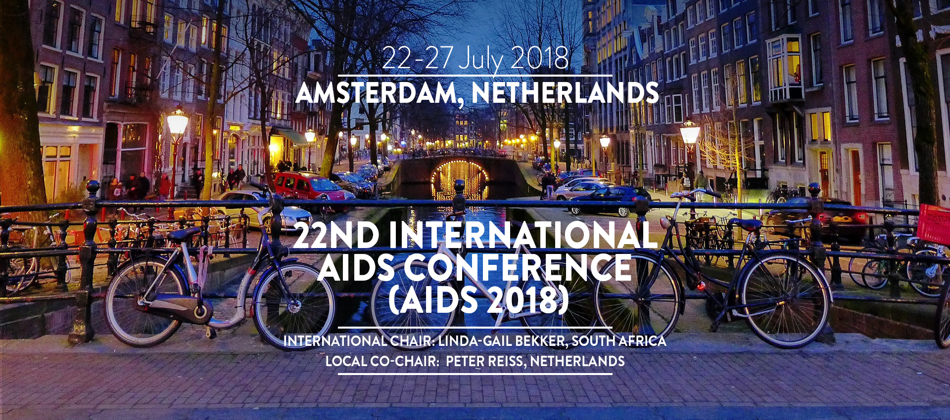 22-27 July 2018 22nd International AIDS Conference (AIDS 2018)