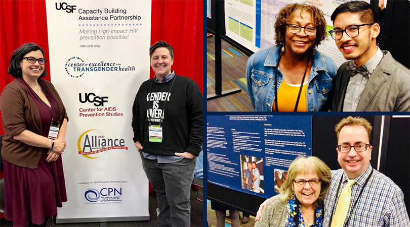 National HIV Prevention Conference in Atlanta, GA with Michelle Cataldo, Jen Shockey, Barbara Green Ajufo, Daryl Mangosing, Susan Kegeles, and Greg Rebchook