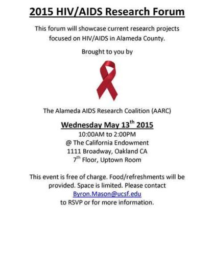 AARC Research Forum May 2015